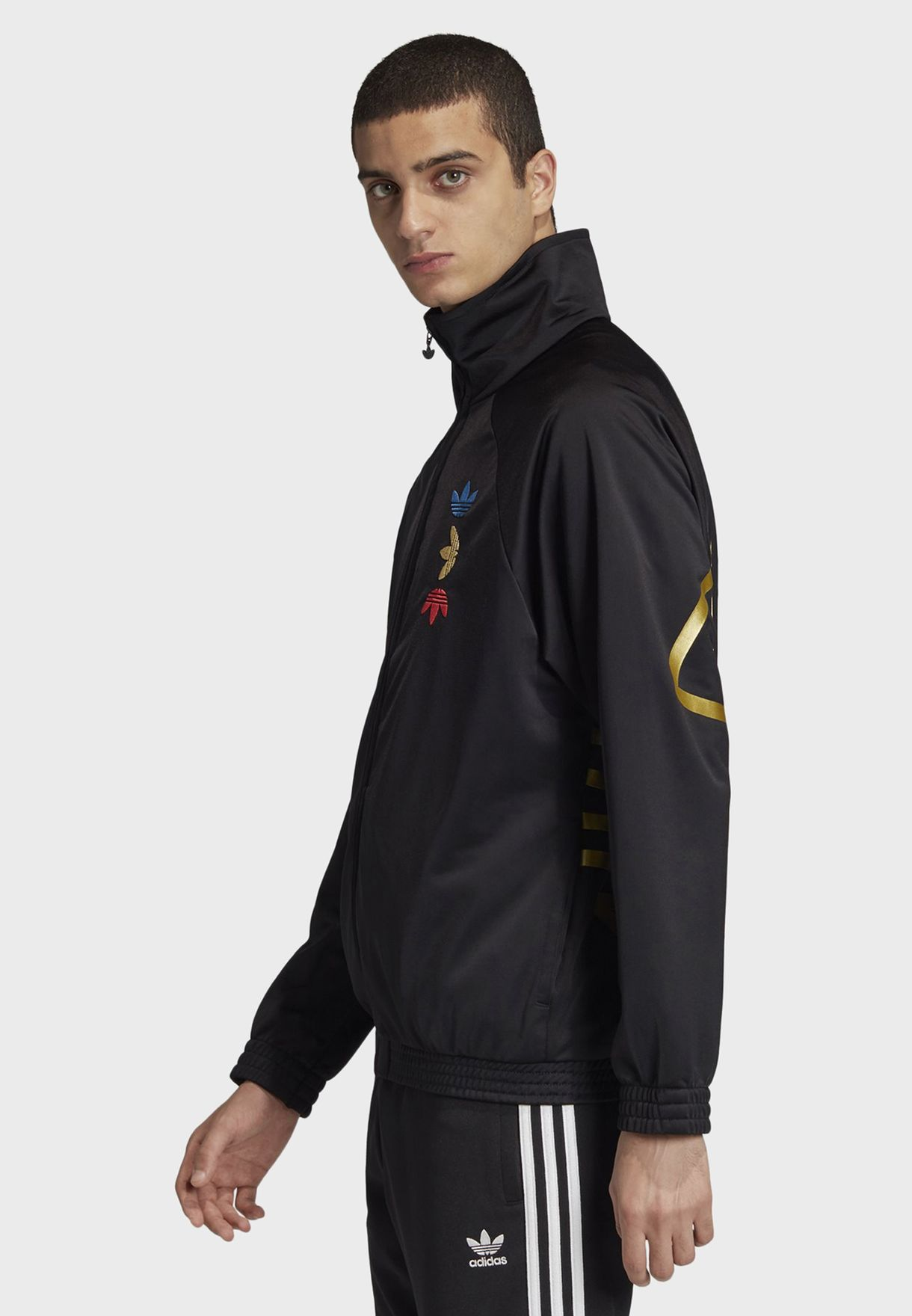 Metallic Track Jacket