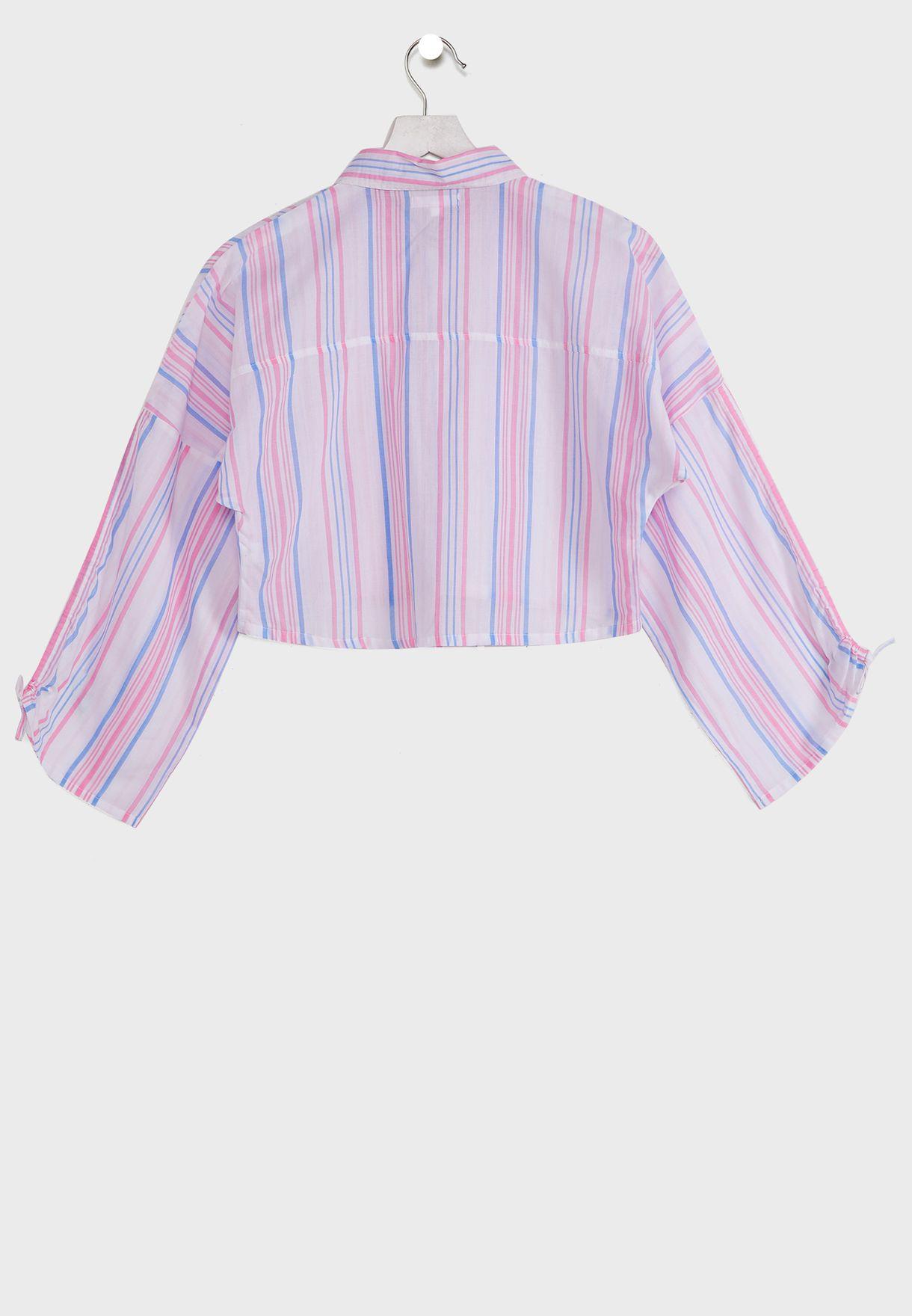 قميص كاجوال بخطوط