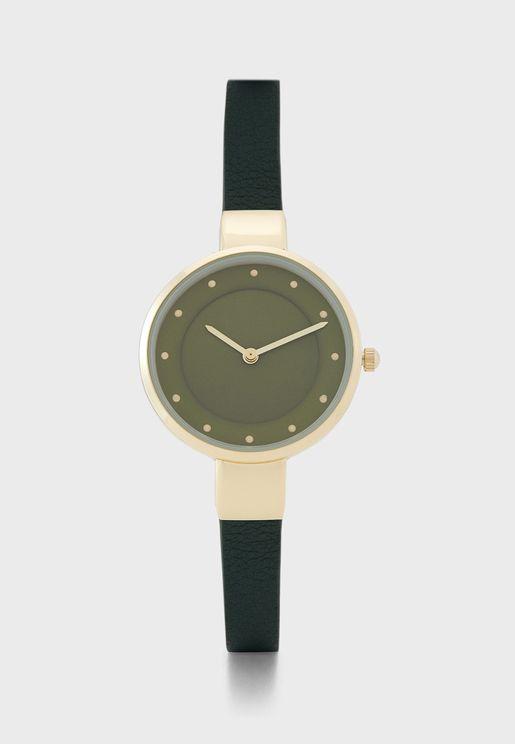 Slim Strap Watch