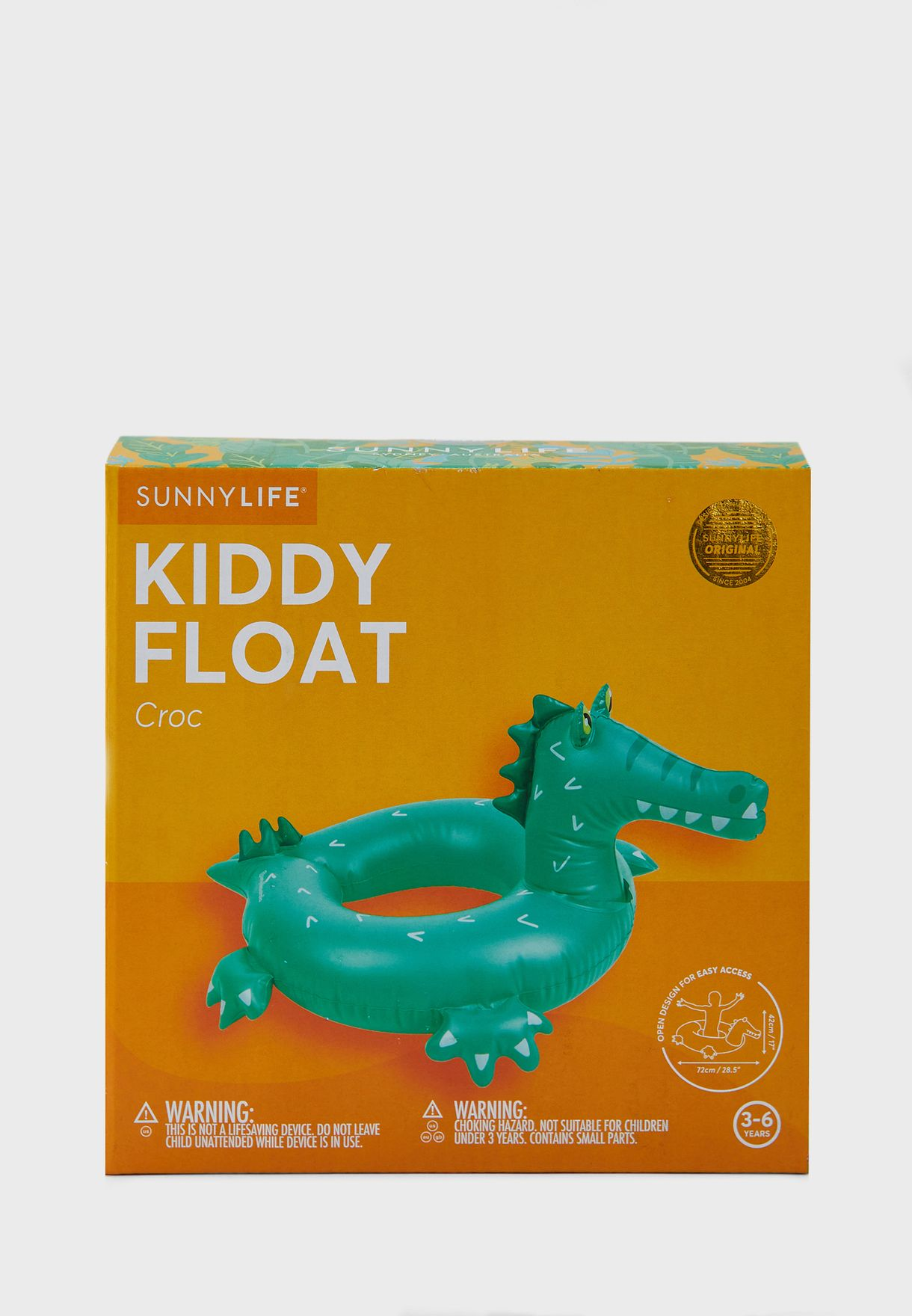 Crocodile Lilo Kids Pool Float