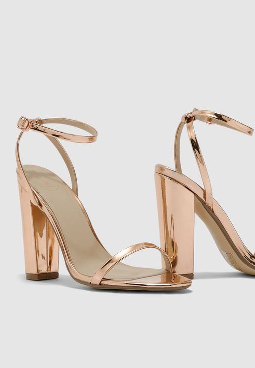 Block Heel Sandal