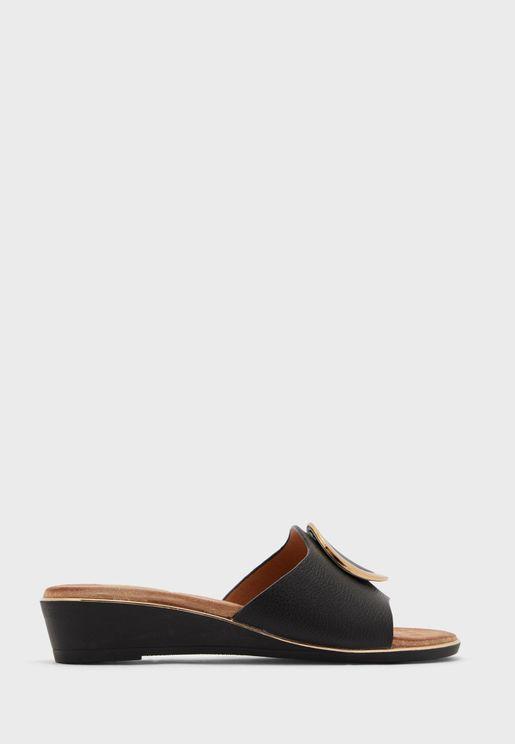 Dana Wedge Sandals