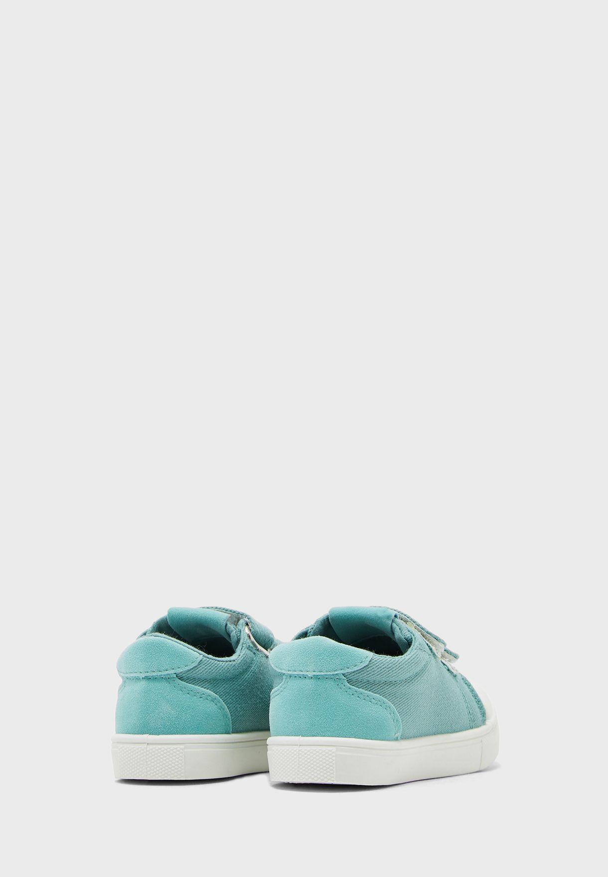Kids Twin Strap Sneaker