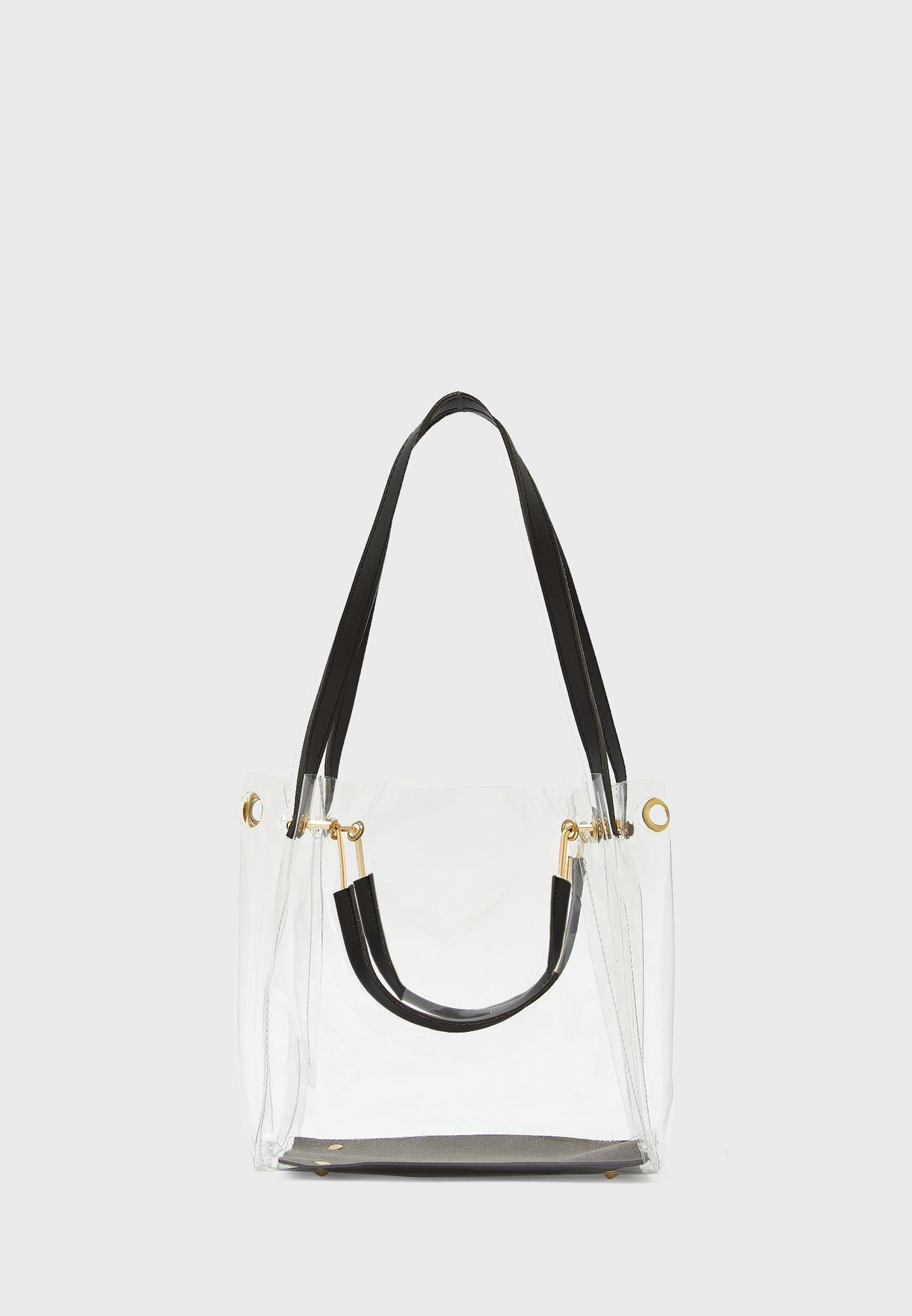 Transparent Clear Bag With Multi Straps