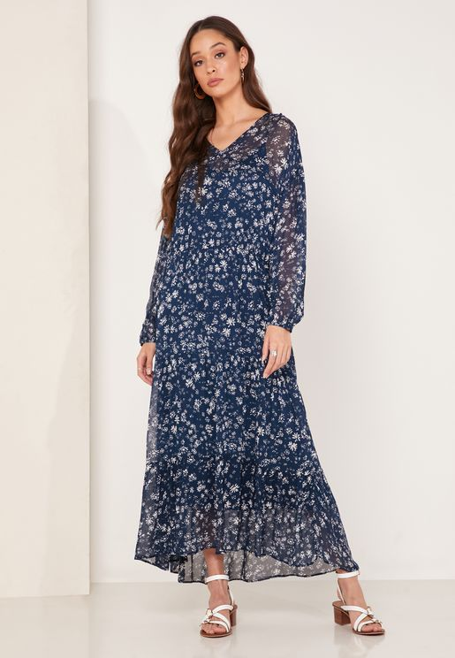 Wallflower Floral Print Dress