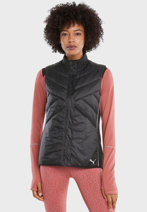 Run Elevated Padded Vest Jacket
