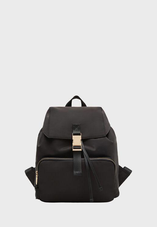 Raimon Flap Backpack