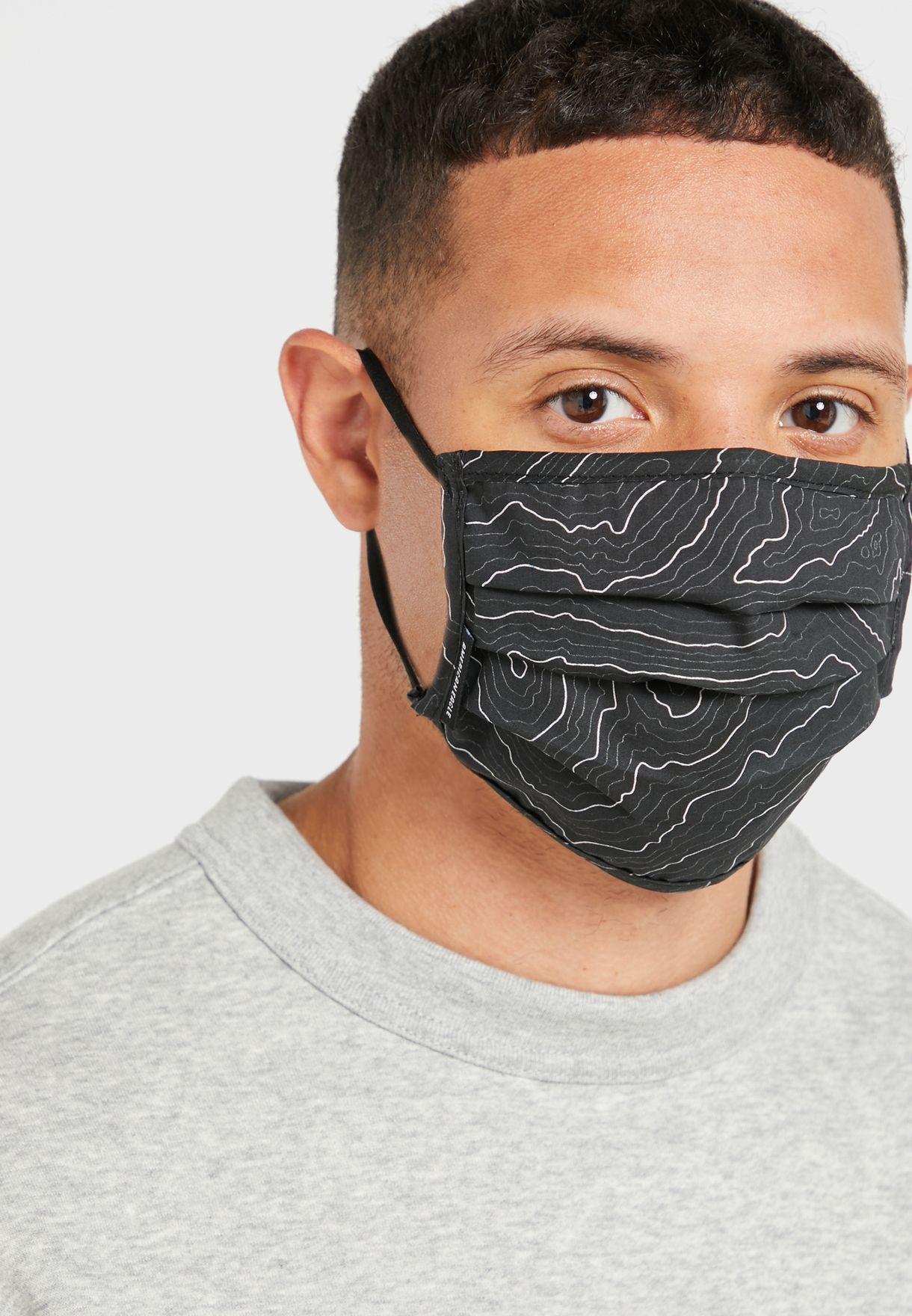 3-Pack Elastic Ear Loops Face Mask
