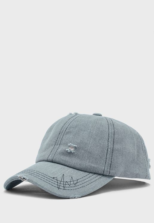 Rugged Denim Cap