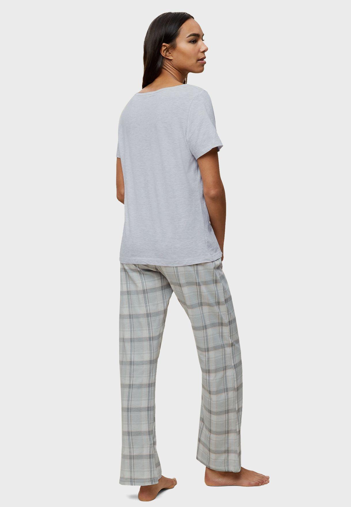 Sloth Printed Pyjama Set
