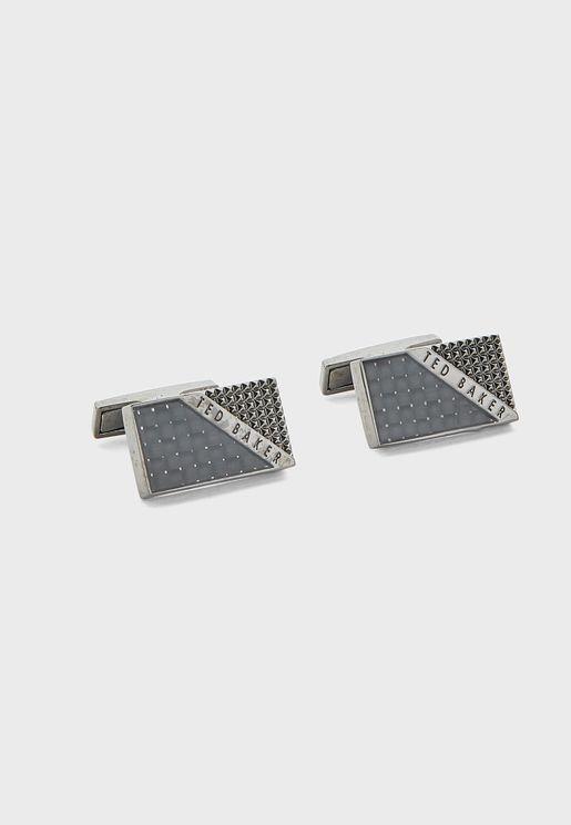 Parlane Carbon Fibre Textured Cufflinks