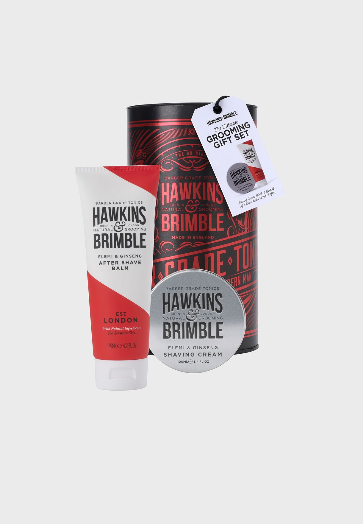 Beard Grooming Shaving Cream And After Shave Balm Set