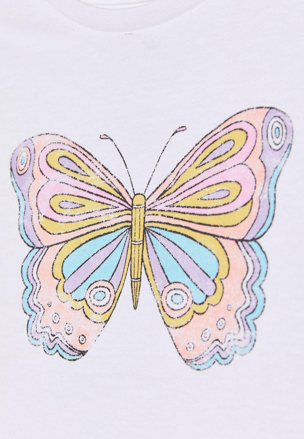 Kids Butterfly T-Shirt