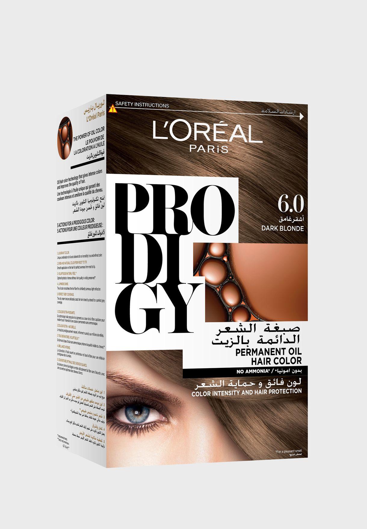 Prodigy Permanent Hair Color Dark Blonde