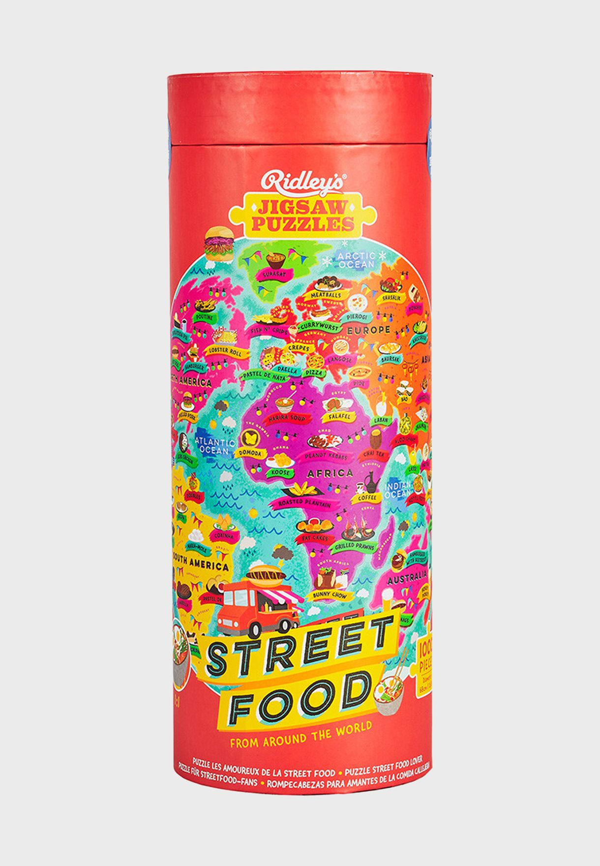 1000pc Steet Food Lover's Jigsaw Puzzle