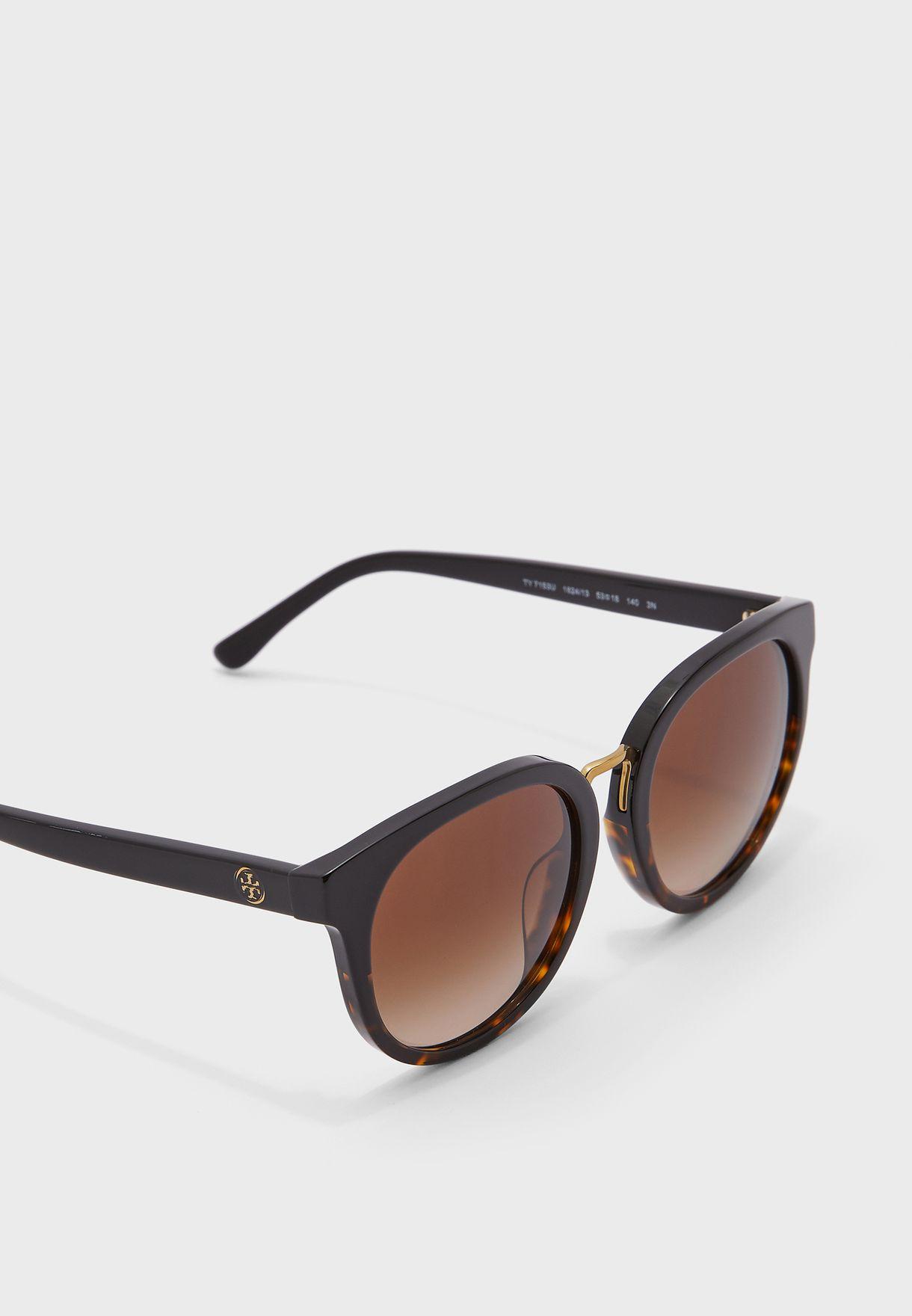 0Ty7153U Oversized Sunglasses