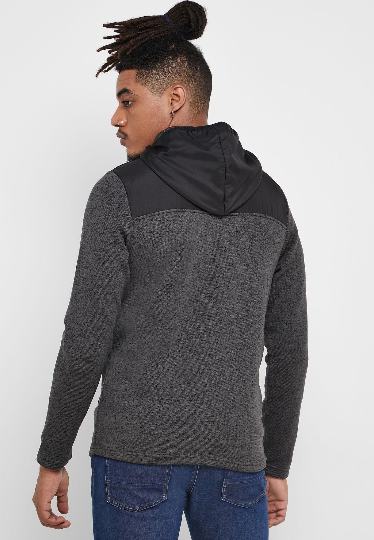 Jack & Jones Franklins Zip Through Sweatshirt - Fashion