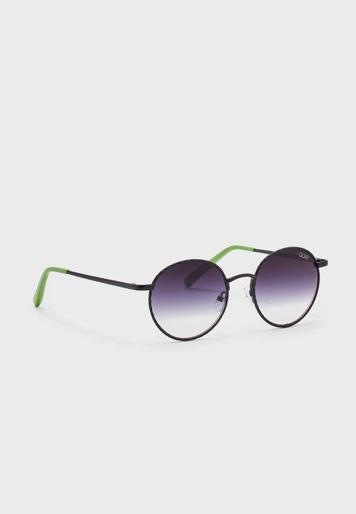 Full Frame Round Sunglasses