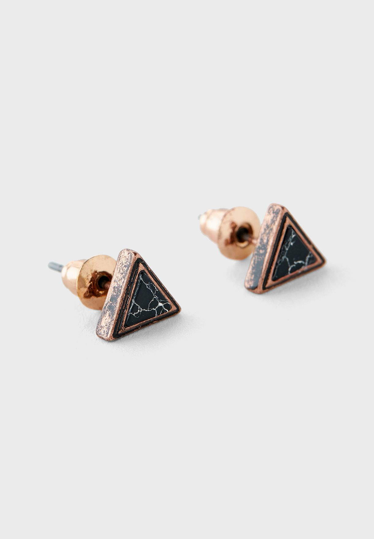 Icy Waters Turquoise Studs Earring