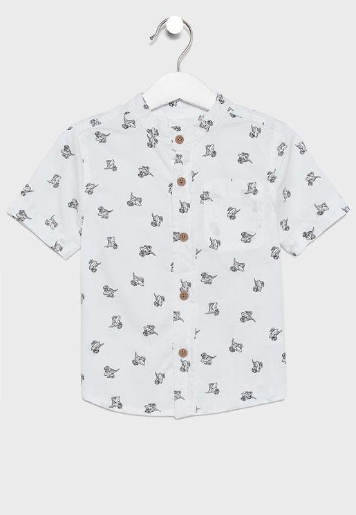 قميص اطفال بطبعات