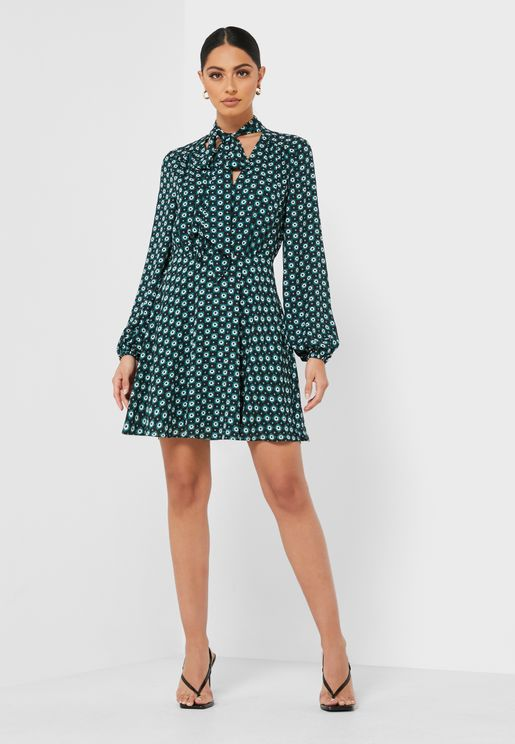 Dolley Rocoo Printed Dress
