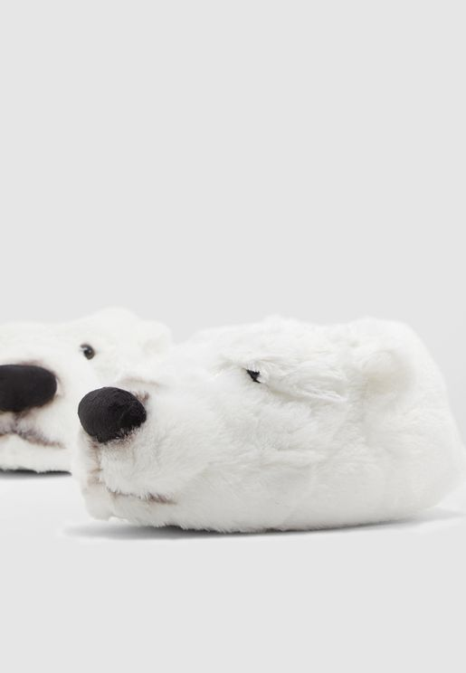 Polar Bear Bedroom Slippers
