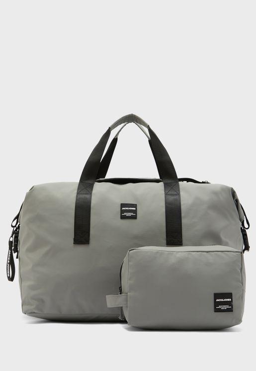 Rex Duffel Bag & Toiletry Bag Set