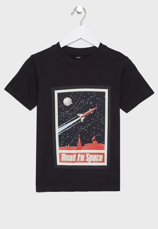 Youth Road To Space T-Shirt