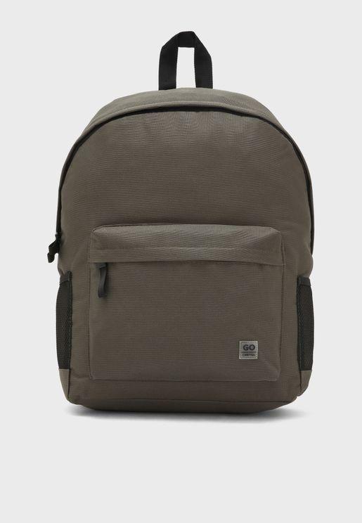 Go Up Front Zip Backpack