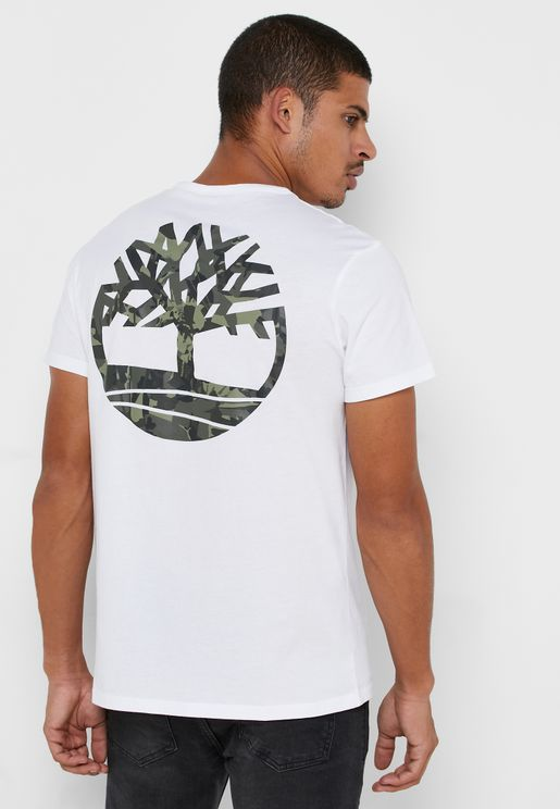 Back Logo Camo T-Shirt