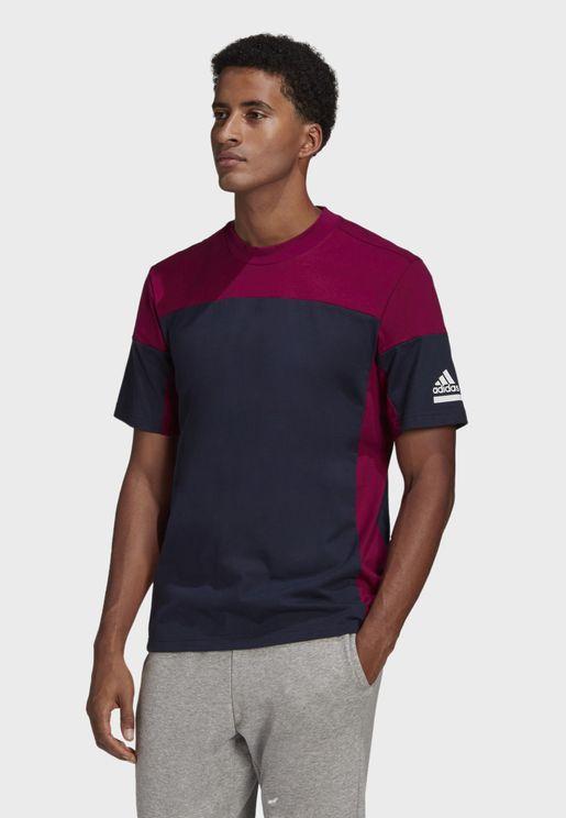 Z.N.E. Colour Block T-Shirt