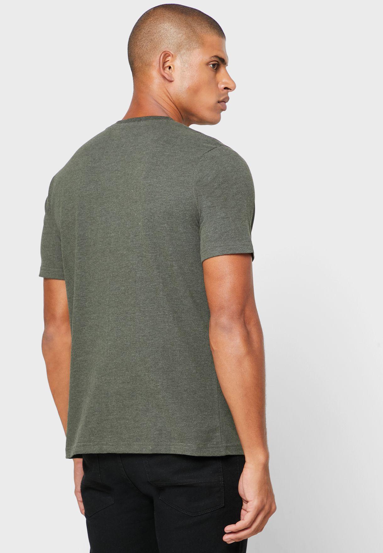 Varsity Crew Neck T-Shirt