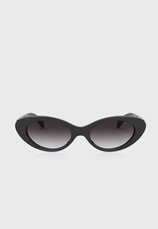 نظارة شمسية بعدسات بيضاوية 0EA4143