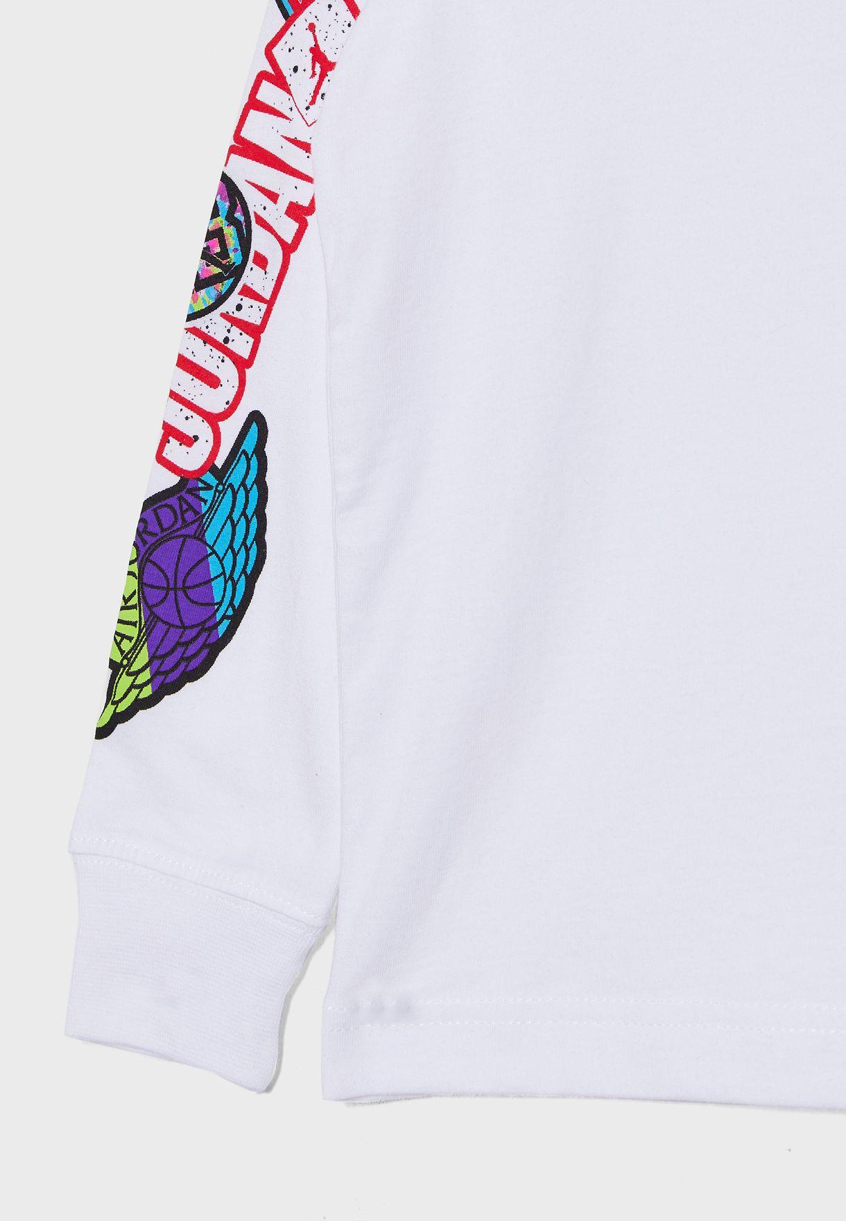 Kids Jordan Sticker 4 T-Shirt