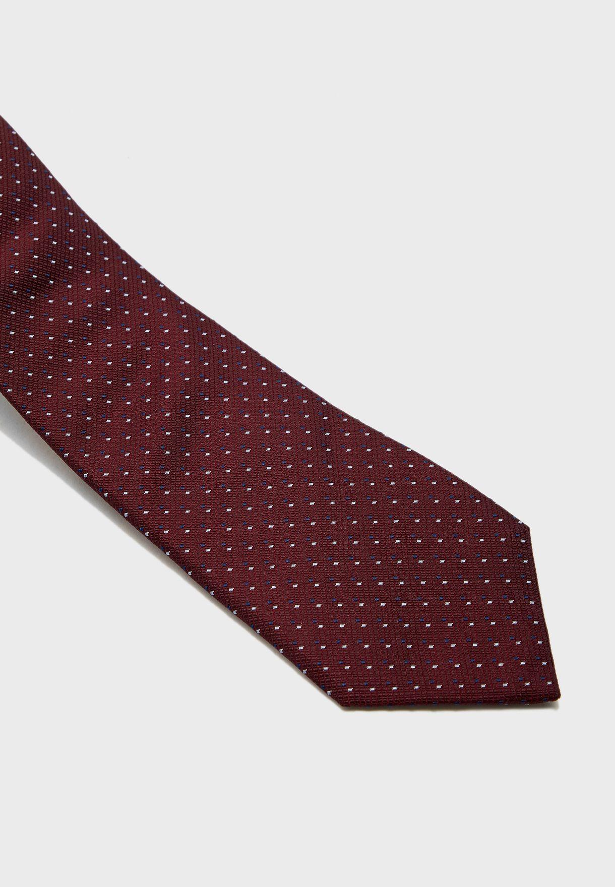 Double Dash Spot Tie