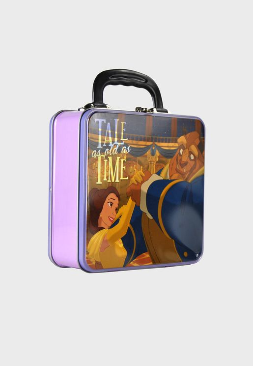 Beauty & Beast Tin Tote