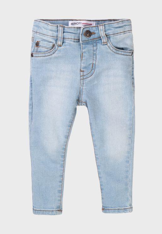 Kids Basic Skinny Jeans