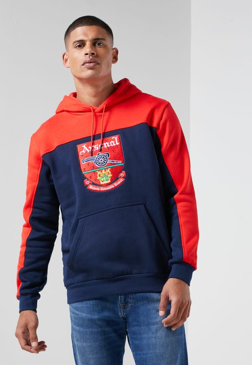Arsenal Trefoil Hooded Track Jacket