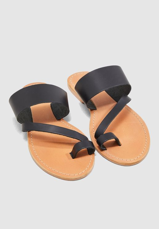 Honey Flat Sandal