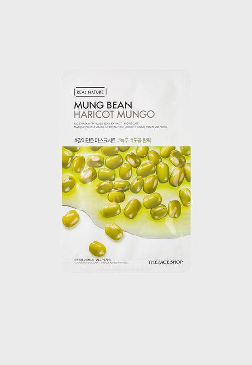 Real Nature Mask Sheet - Mung Bean