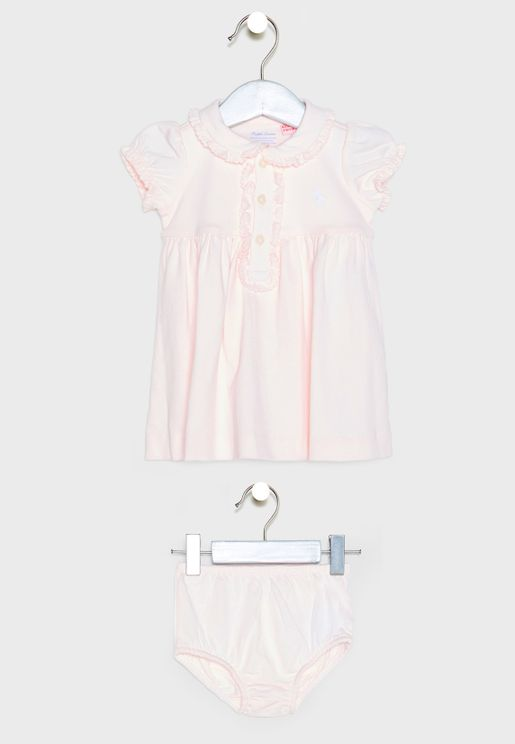 Infant Logo Polo Dress
