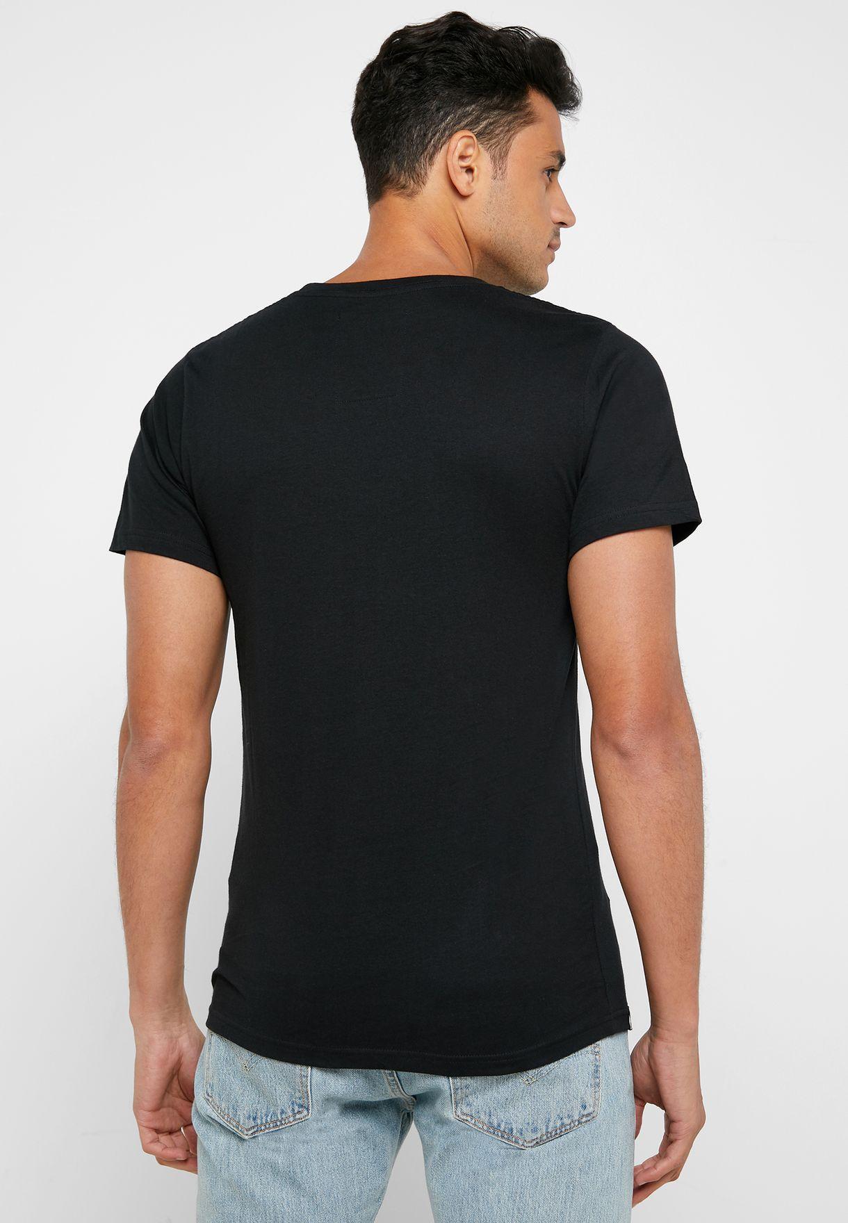 Stockholm Wu-Tang Crew Neck T-Shirt