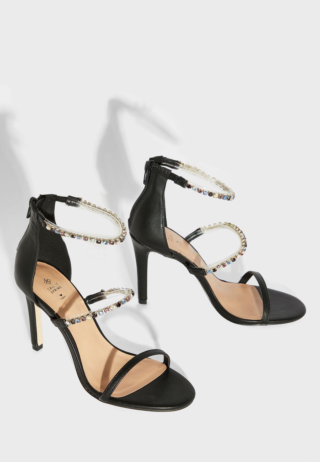 Silvertip Ankle Strap Sandal