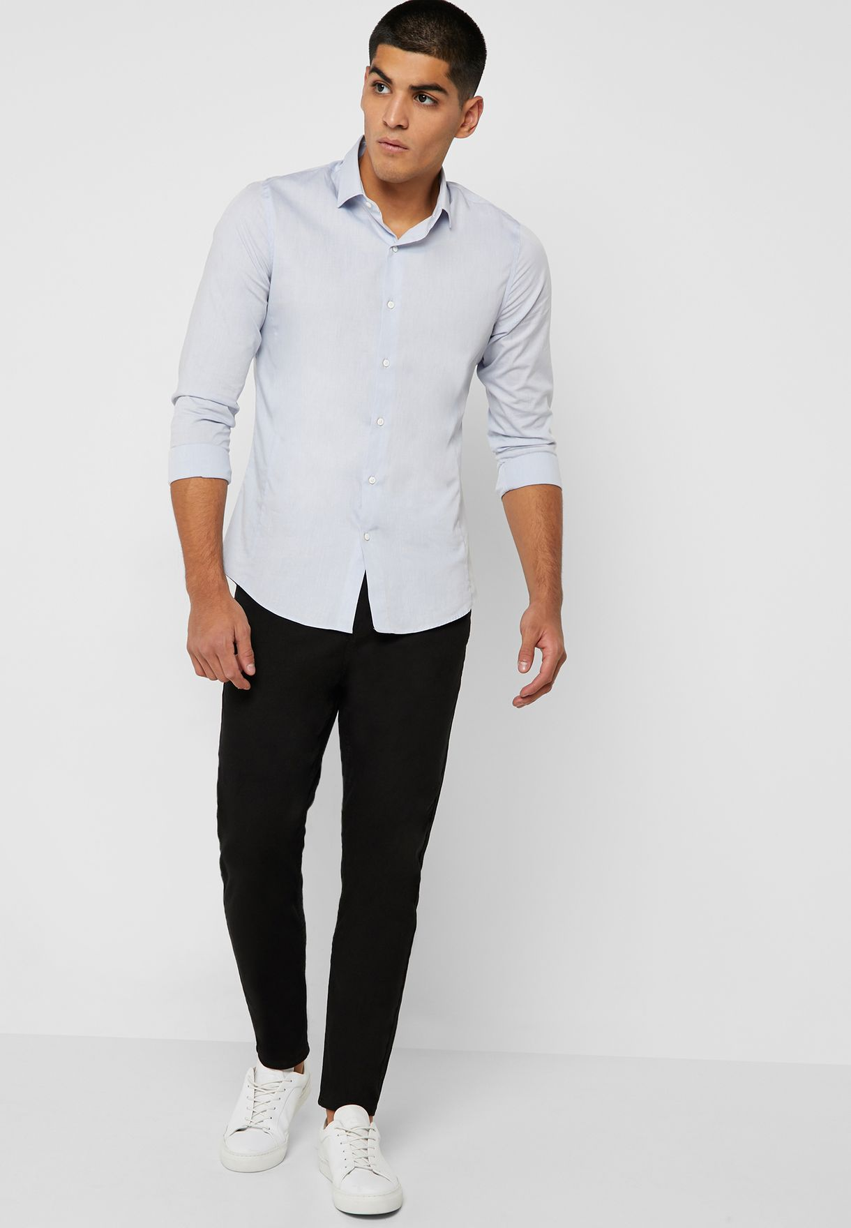 Rinse Wash Tapered Jeans
