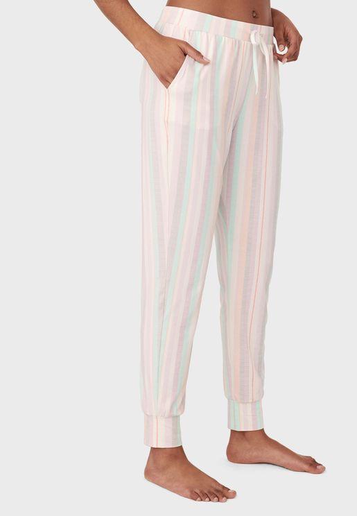Stripe Print Pyjama Pant