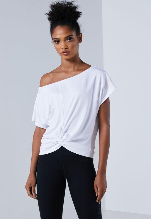 Essential Waist Knot T-Shirt