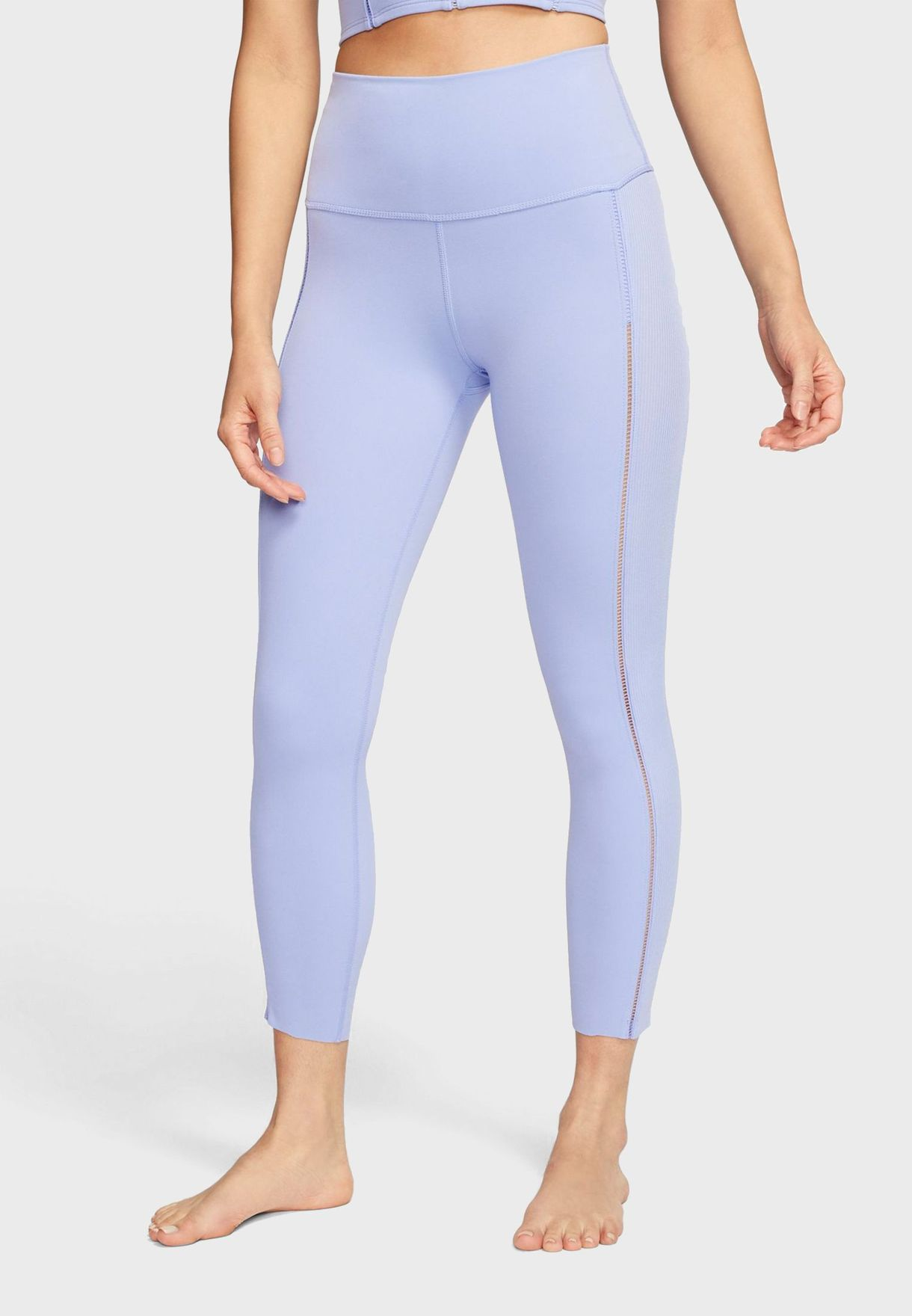 Yoga Luxe Ribbed 7/8 Tights