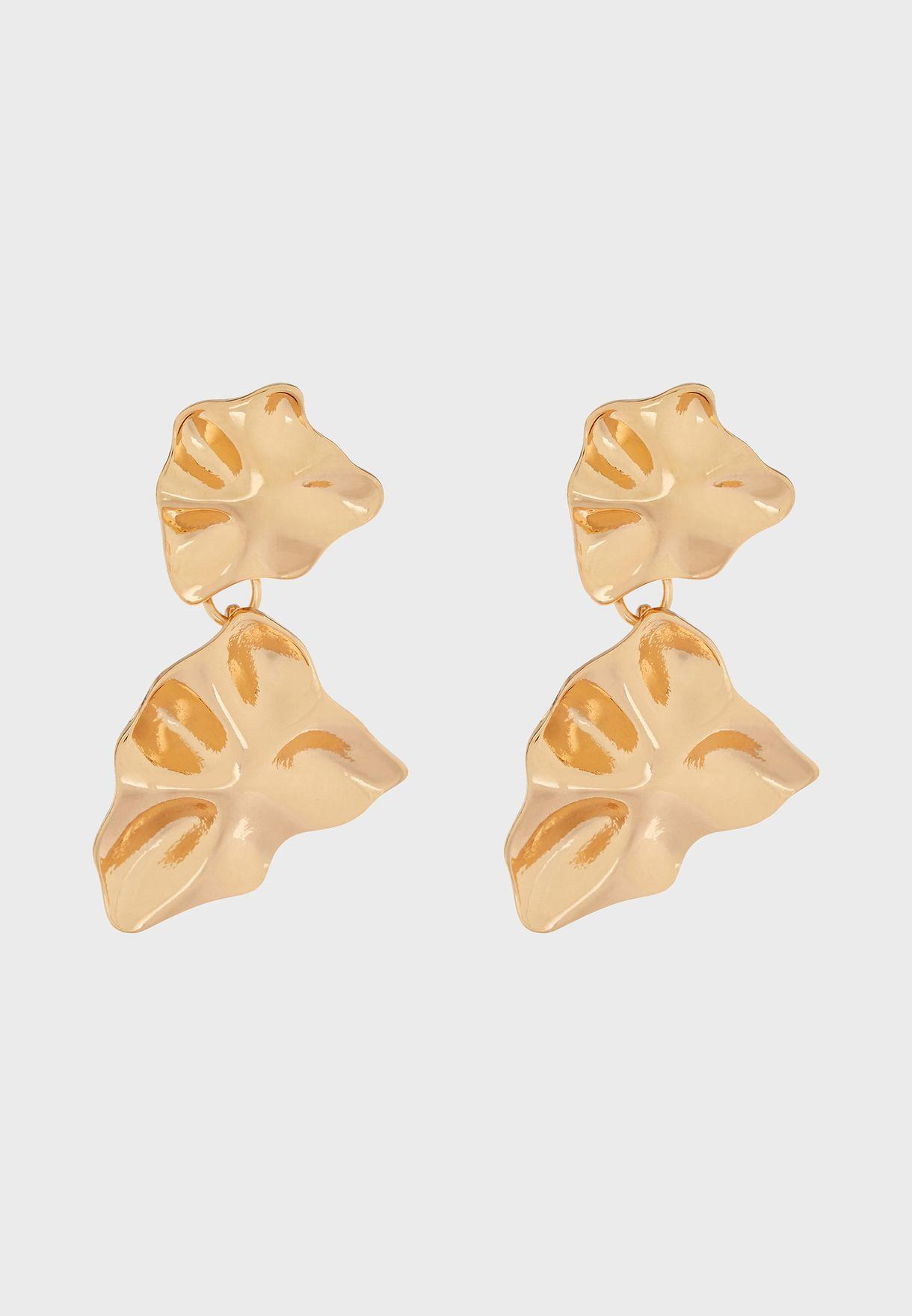 Kids Crinkled Earrings