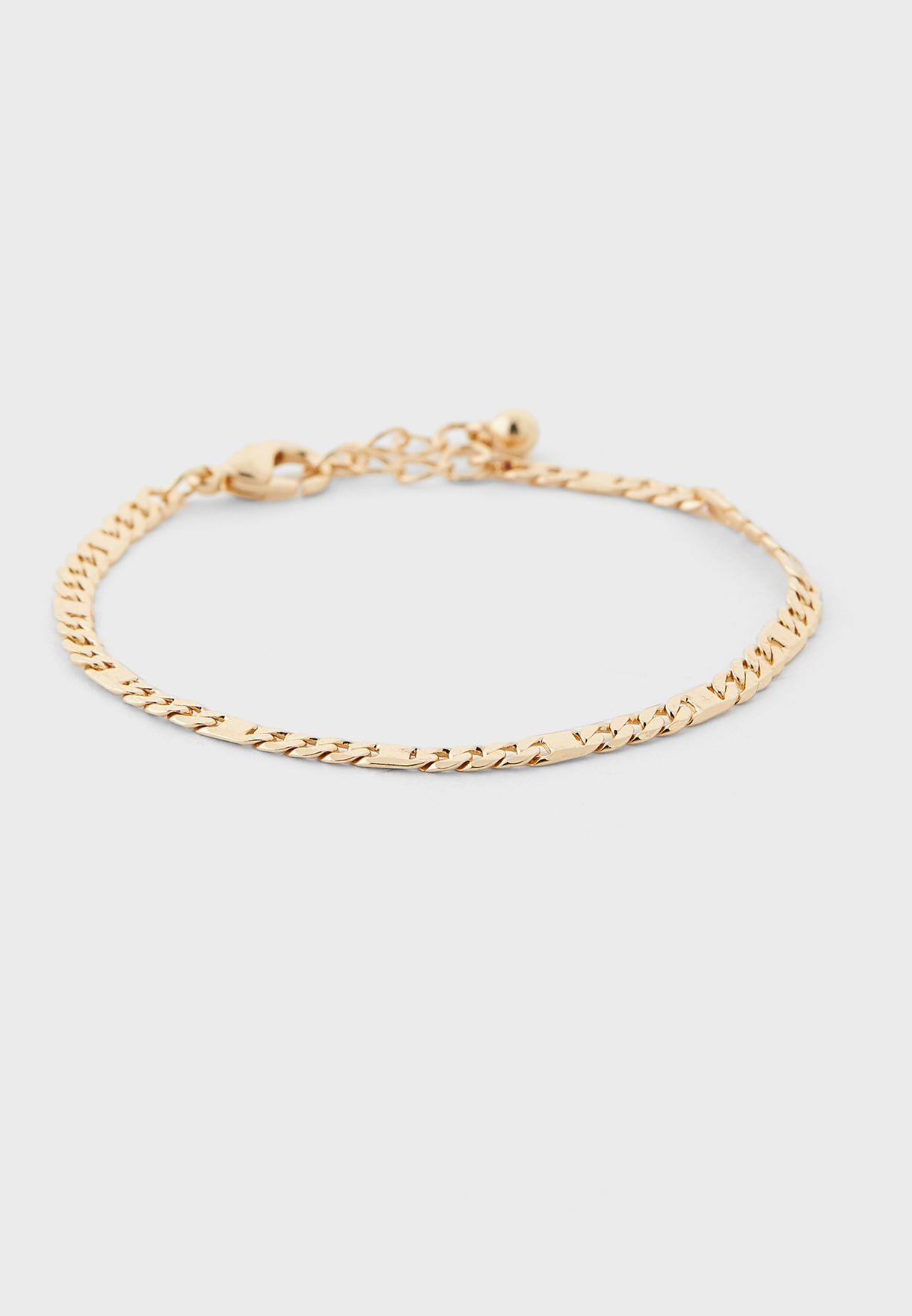 Pack Of 3 Daisy Detail Bracelets