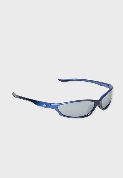 Youth Ombre Sport Wrap Sunglass
